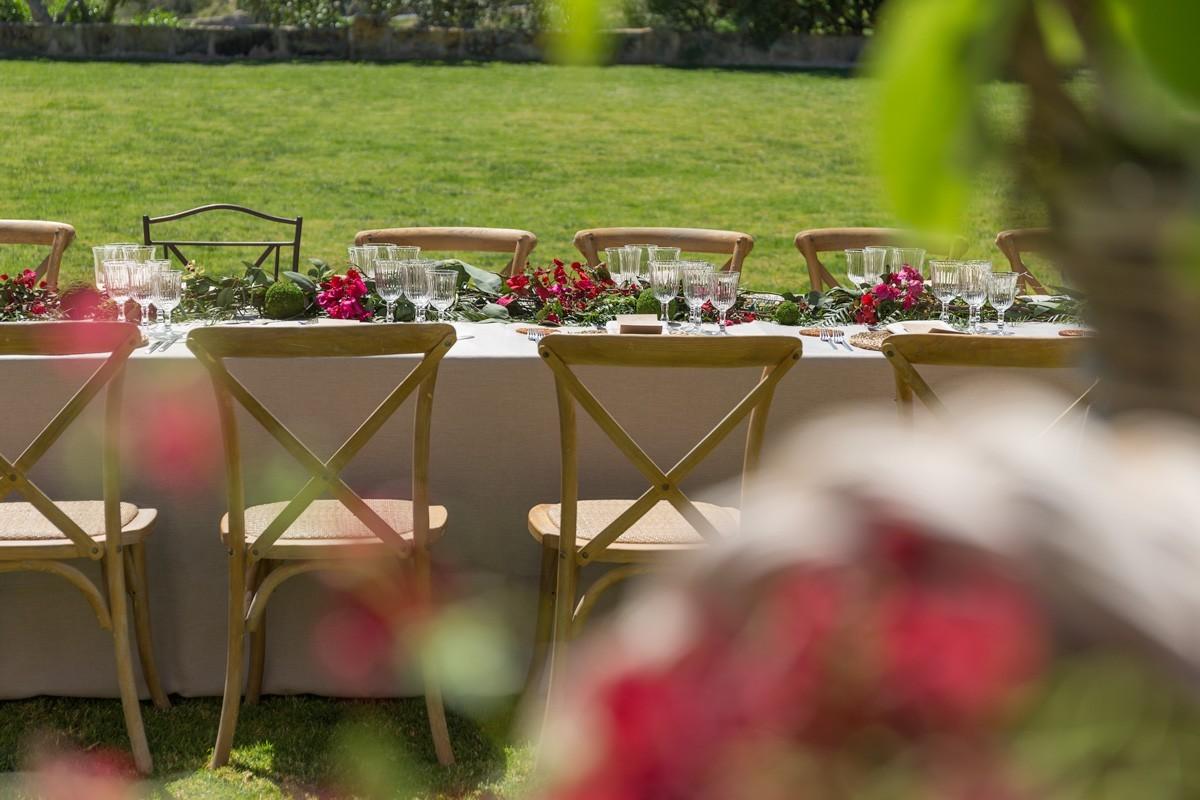 El mejor citio para celebrar tu boda es la finca Biniorelle, Camp de Mar, Mallorca.
